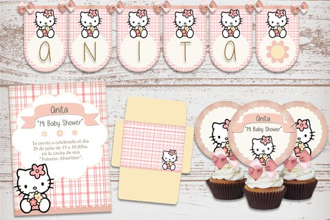 Kit Imprimible Hello Kitty Vintage