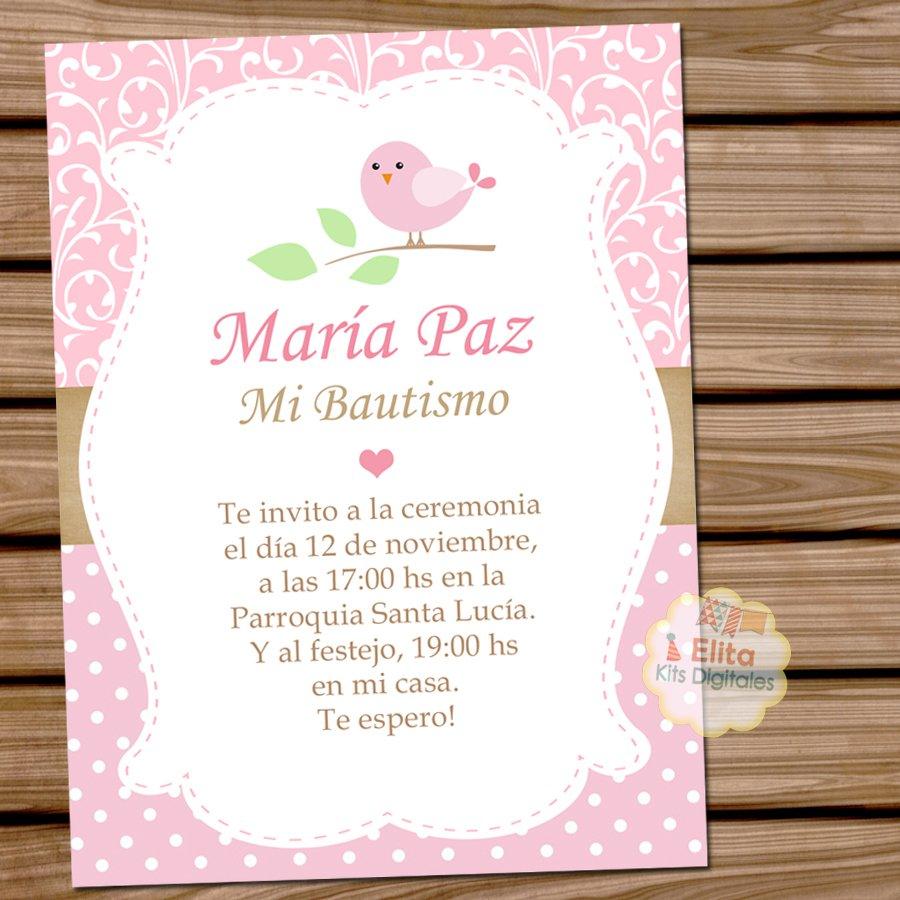Kit Imprimible Pajarito Rosa Shabby Chic Decoración