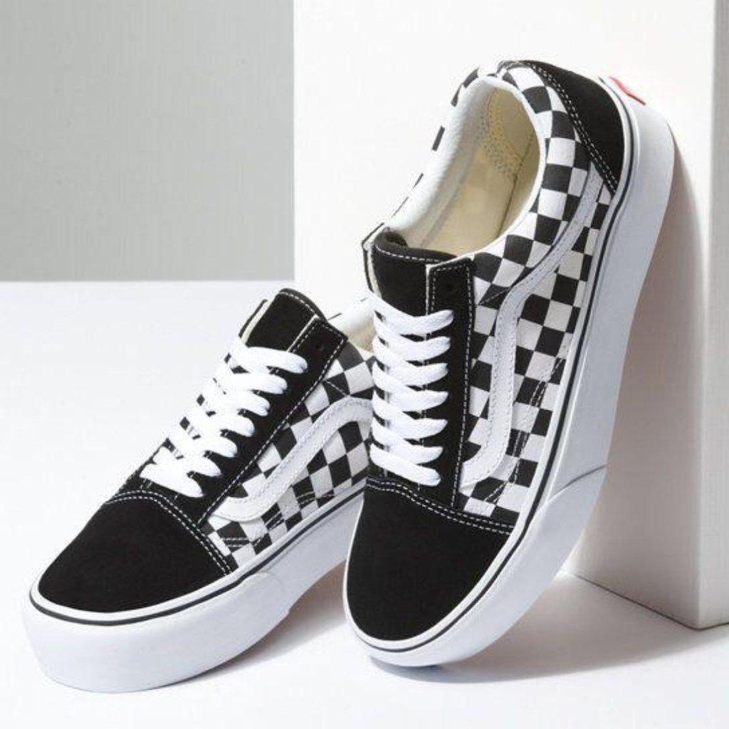f06a82f65d4 Tênis Vans Old Skool Xadrez - Comprar em Oh