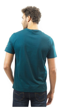 Polo Club Remera Manga Corta Hombre Sunset Aero Green - comprar online