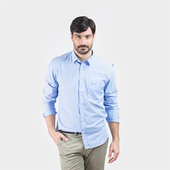 Camisa Oxford Polo Club Manga Larga Hombre Golden Lb