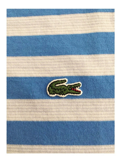 Chomba Lacoste Hombre Rayada Dh8412 - comprar online