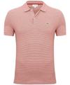 Lacoste, Chomba, Blanca, Hombre, Regular Fit, Ph3201 Rayada