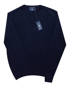 Polo Club Sweater Escote En V W85w18