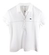Lacoste, Chomba, Detalle Calado, Pf8280, Mujer