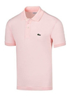 Lacoste Chomba Rosa Hombre Basica Classic Fit L1212
