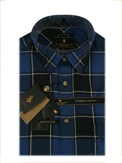 Polo Club Camisa Rayada Hombre New York