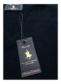 Polo Club Sweater Escote En V W85w18 - comprar online