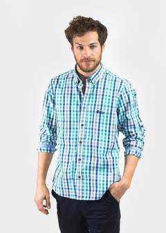 Camisa Oxford Polo Club Manga Larga Hombre Essential Ayv