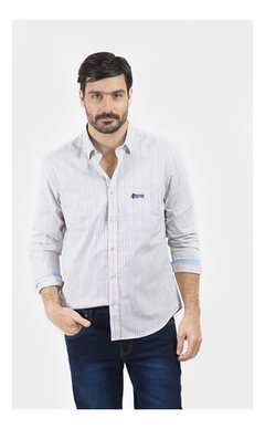 Camisa Oxford Polo Club Manga Larga Hombre Splendor A
