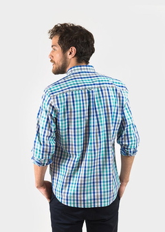 Camisa Oxford Polo Club Manga Larga Hombre Essential Ayv - comprar online