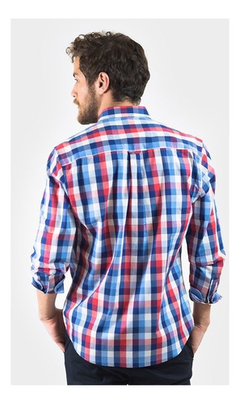 Camisa Oxford Polo Club Manga Larga Hombre Essential Rya - comprar online
