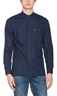 Lacoste Camisa Hombre Manga Larga Ch9607 - comprar online