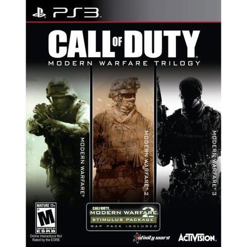 Juego Ps3 Call  Of Duty Warfare Collection