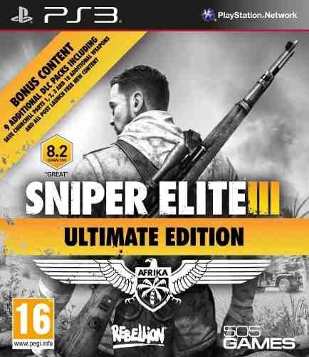 Sniper Elite 3 Ultimate Edition Ps3