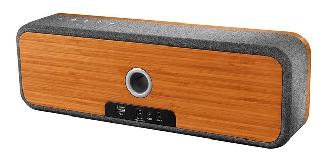 Parlante Portatil Bluetooth Marley Get Together MADERA - Full Technology