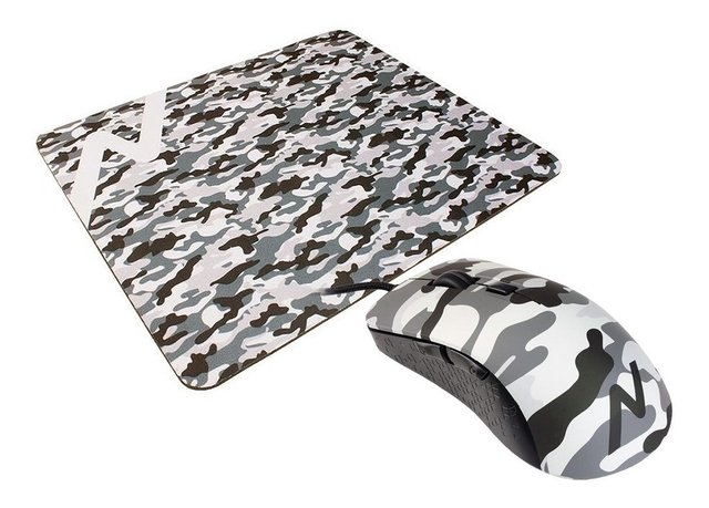 Combo Mouse Gamer Usb + Mouse Pad Noga St-505