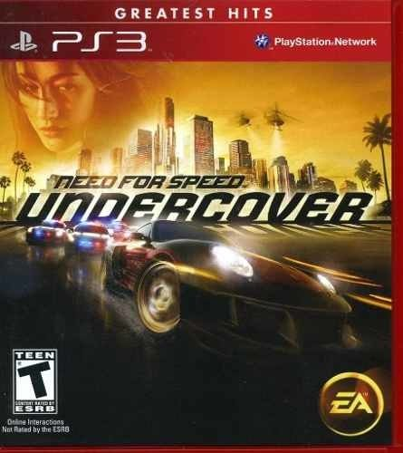 Need For Speed Under Cover Ps3