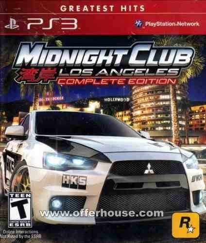 Juego Ps3 Midnigth Club