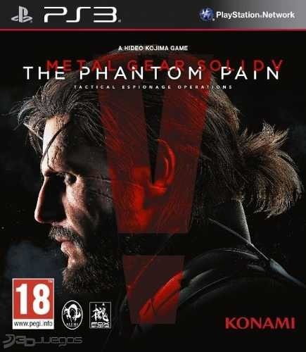 Metal Gear V Phantom Pain Ps3
