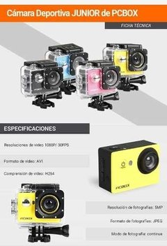 Camara Pcbox Junior - Full Technology