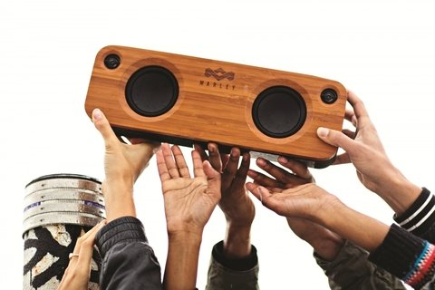 Parlante Portatil Bluetooth Marley Get Together MADERA - comprar online