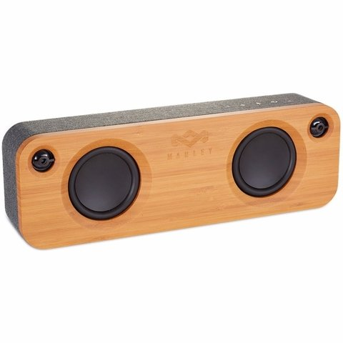 Parlante Portatil Bluetooth Marley Get Together MADERA