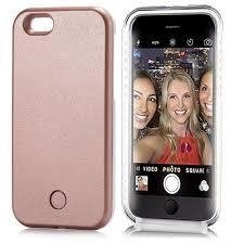 Funda SELFIE CASE con luz led