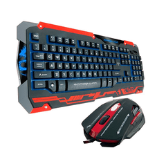 Teclado y Mouse Gamer - Dragon War GKM-001