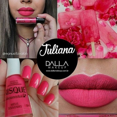 BATOM LÍQ. MATTE JULIANA - DALLA MAKEUP