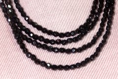 Niagara Necklace Black Crystals - buy online