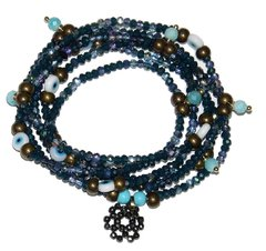 Necklace/bracelet Sorte Zodiac Signs - Virgo (Amazonite)