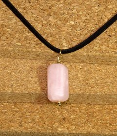 Trítono Necklace pink pearls, white pearls and pink quartz. - buy online