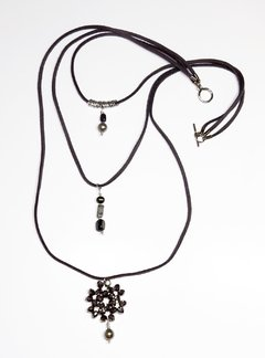 Gray Trítono necklace - buy online