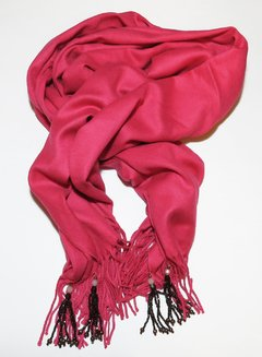 Pink Pashmina withTassels