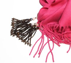Pink Pashmina withTassels - buy online