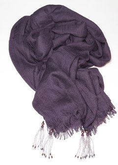 Merlot Pashmina with Tassels - online store
