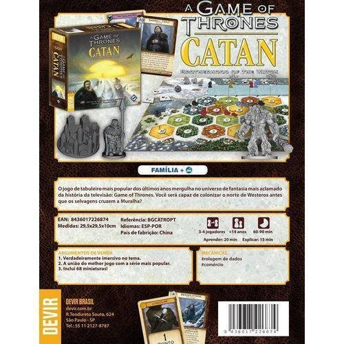 A Game Of Thrones: Catan - Brotherhood Of The Watch - comprar online