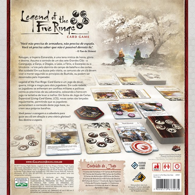 LEGEND OF THE FIVE RINGS: THE CARD GAME - comprar online