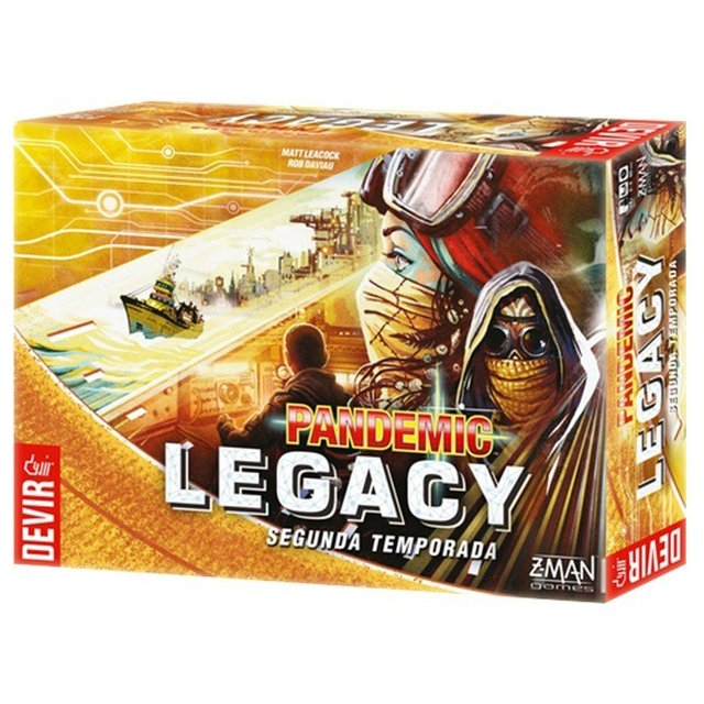 Pandemic Legacy: 2ª Temporada (Yellow)