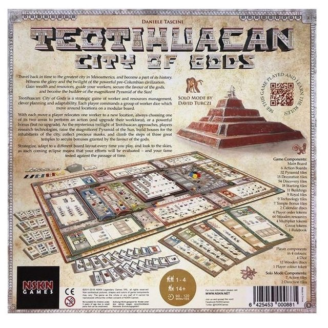 Teotihuacan: City of Gods - comprar online