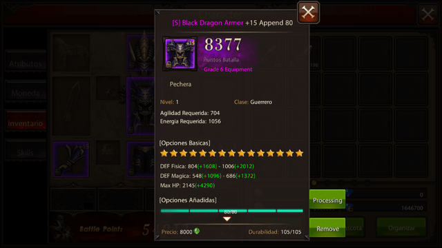 Set Black Dragon DK T6 en internet