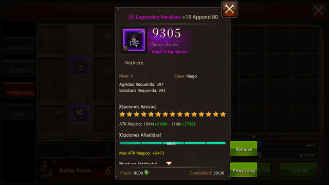 Pack Joyeria Legendary DW T5