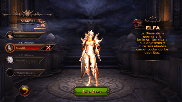 Set Red Mist ELF T8