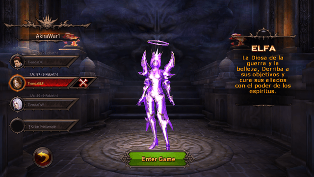 Set Holy Spirit ELF T7
