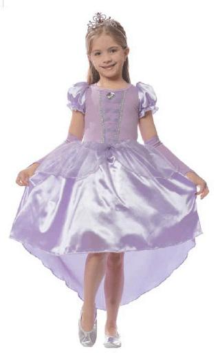 Fantasia Luxo Princesa Lilás