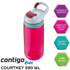 Botella Agua Contigo Courtney Kids Original Usa