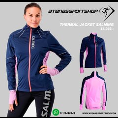 CAMPERA ROMPEVIENTOS THERMAL JACKET SALMING MUJER - ATENAS SPORT SHOP