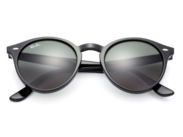 Ray-Ban RB2180 601 71 51-21 Round Highstreet - Preto   Verde 9635be1296