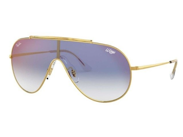 fe081bb0062 Ray-Ban RB3597 002 11 01-33 Wings Roxo - Unique Outlet